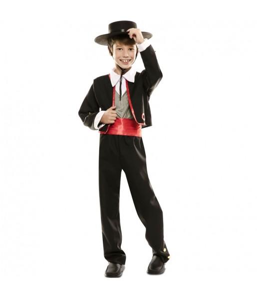 Disfraz de Cordobés Español para niño