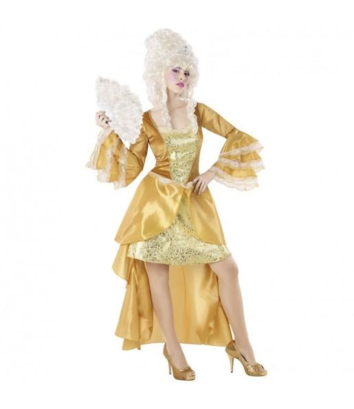 Disfraz de Cortesana Época Dorada para mujer