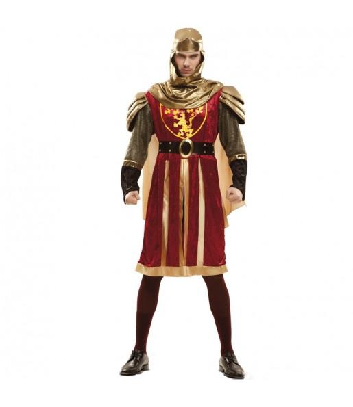 Disfraz de Cruzado Rojo para hombre