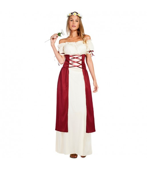 Disfraz de Dama Medieval Gadea para mujer