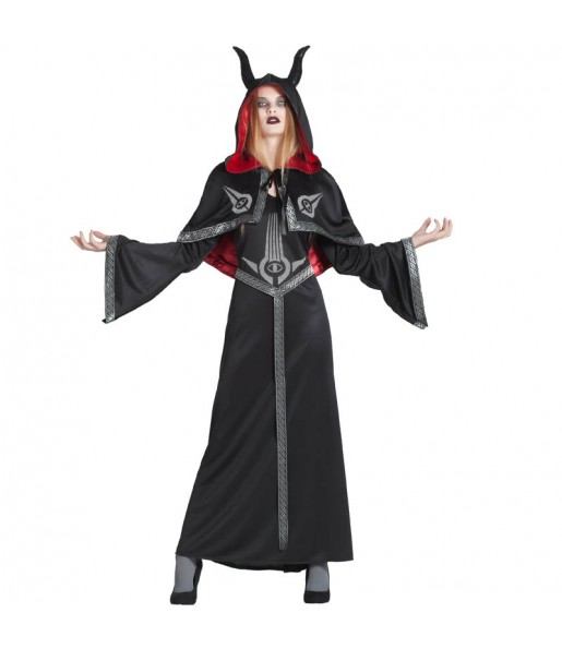 Disfraz de Demonia Sectaria para mujer