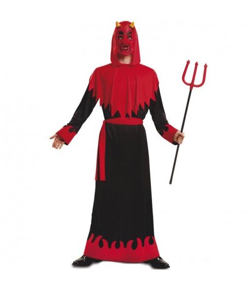Disfraz de Demonio diablo barato para adulto