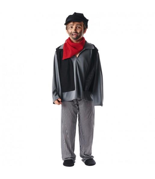 Disfraz de Deshollinador Mary Poppins para niño