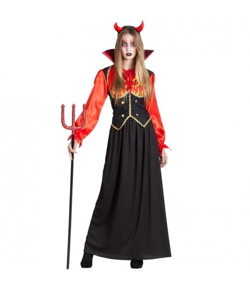 Disfraz Diablesa Infernal Para Mujer 【env 237 O Halloween En 24h】