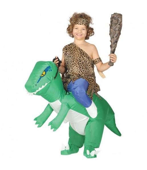 Disfraz de Dinosaurio a Hombros hinchable para niños