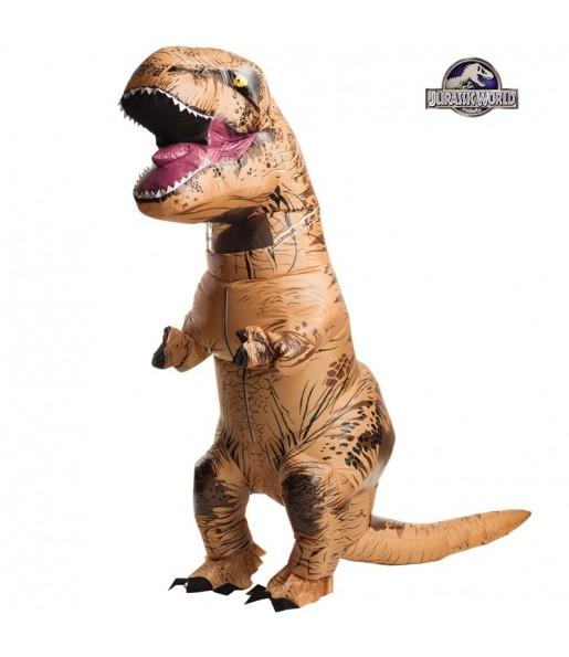 Disfraz de Dinosaurio T-Rex hinchable para adulto