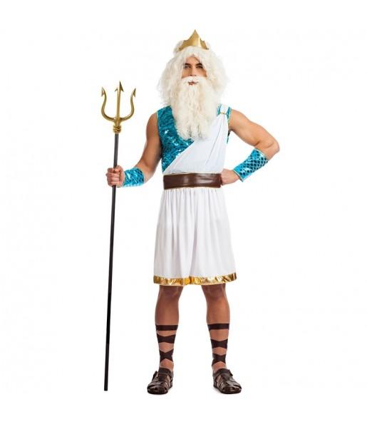 Disfraz de Neptuno para hombre