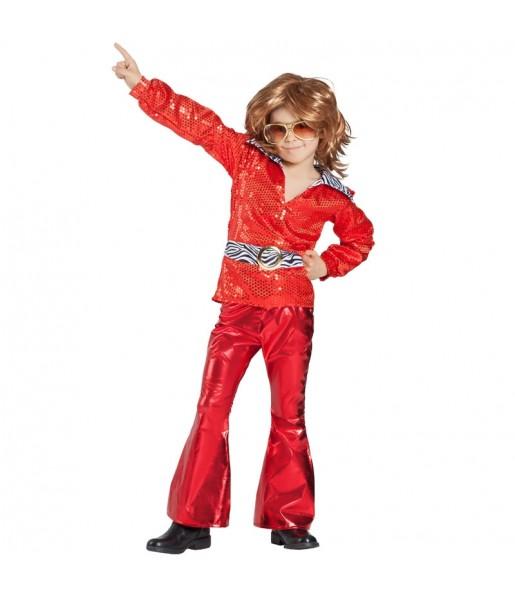 Disfraz de Disco Rojo para niño