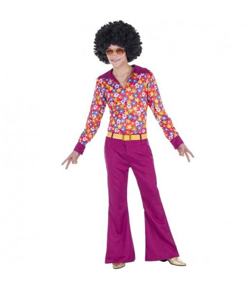 Disfraz de Chico Disco para hombre
