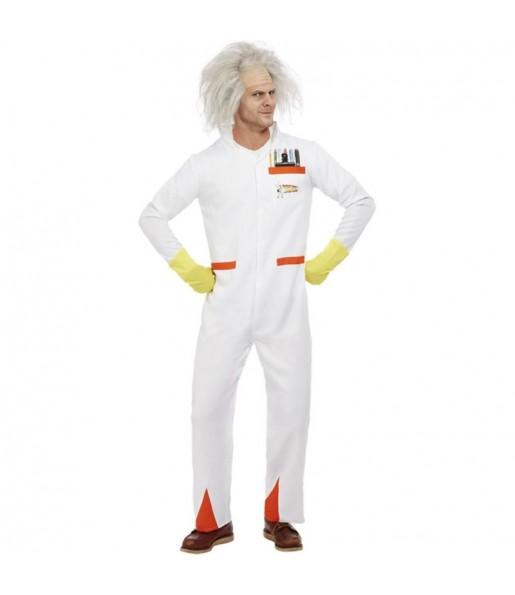 Disfraz de Doc Regreso al Futuro para hombre