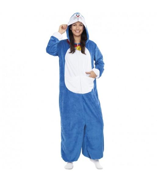 Disfraz de Doraemon para mujer