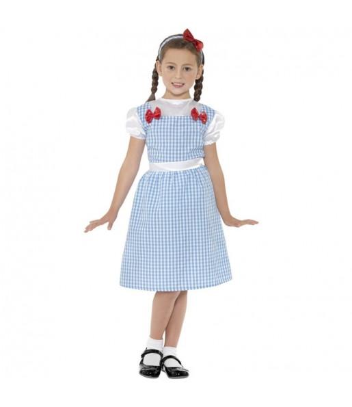 Disfraz de Dorothy Mago de Oz para niña