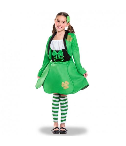 Disfraz de Duende San Patricio para niña