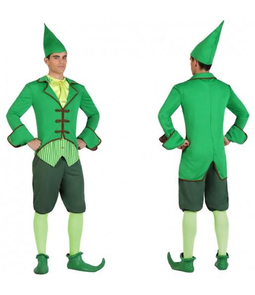Disfraz de Duende Verde Irlandés