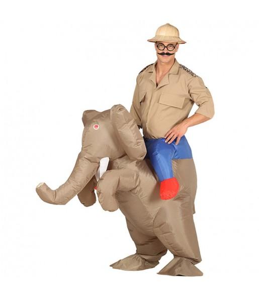 Disfraz de Elefante a hombros Hinchable