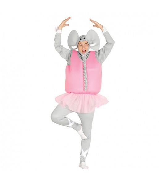Disfraz de Elefante Bailarín Adulto
