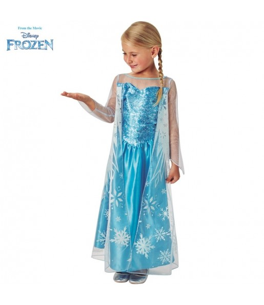 Disfraz de Elsa Frozen Classic para niña
