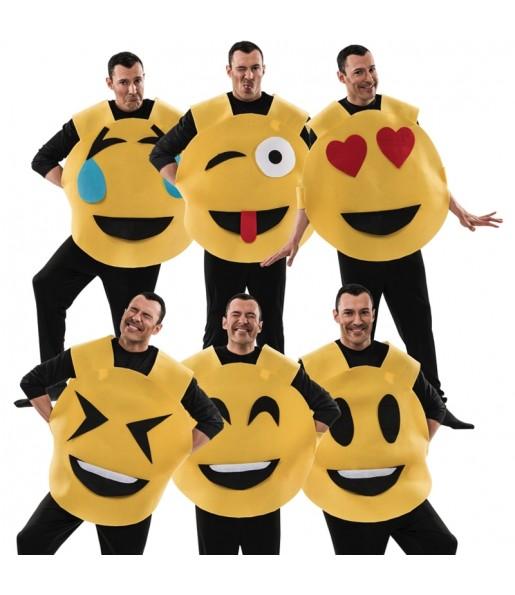 Disfraz de Emoticono Emoji para adulto