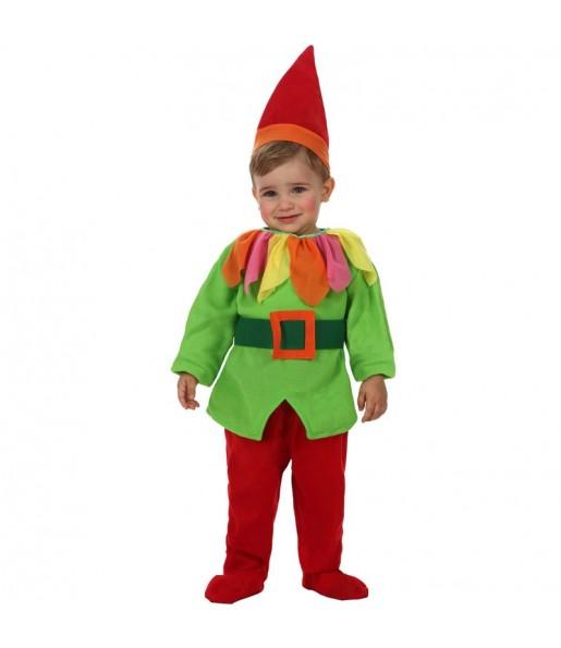 Disfraz de Enanito Verde bebé