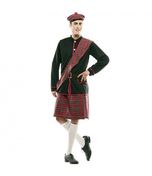 Disfraz de Escocés clásico para hombre