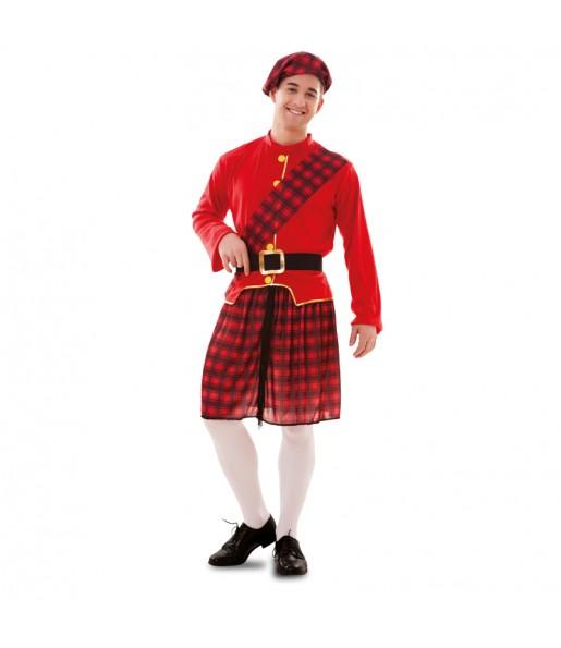 Disfraz de Escocés hombre