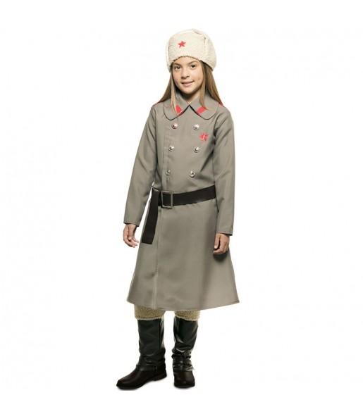 Disfraz de Espía Rusa para niña