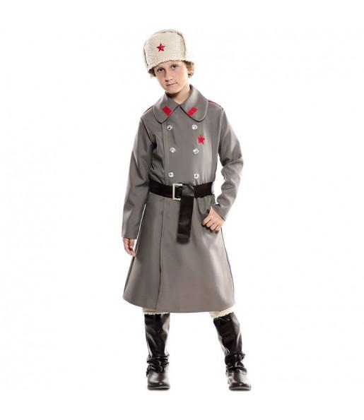 Disfraz de Espía Ruso para niño