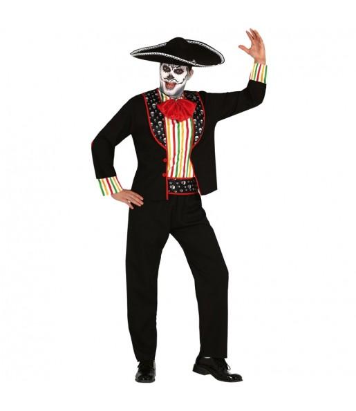 Disfraz de Esqueleto Día de los Muertos para hombre