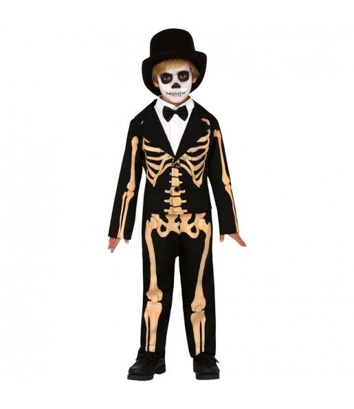 Disfraz de Esqueleto Skull para niño
