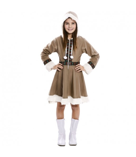 Disfraz de Esquimal Inuit para niña