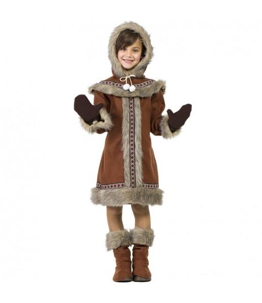 Disfraz de Esquimal Yupik para niña