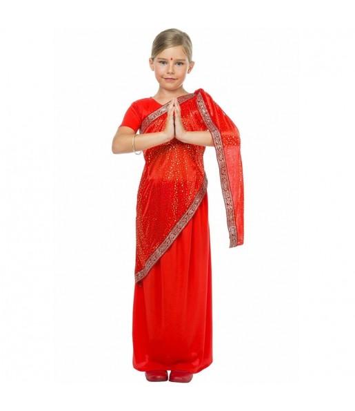 Disfraz de Estrella Bollywood para niña