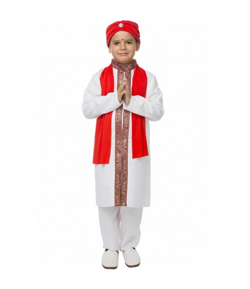 Disfraz de Estrella Bollywood para niño