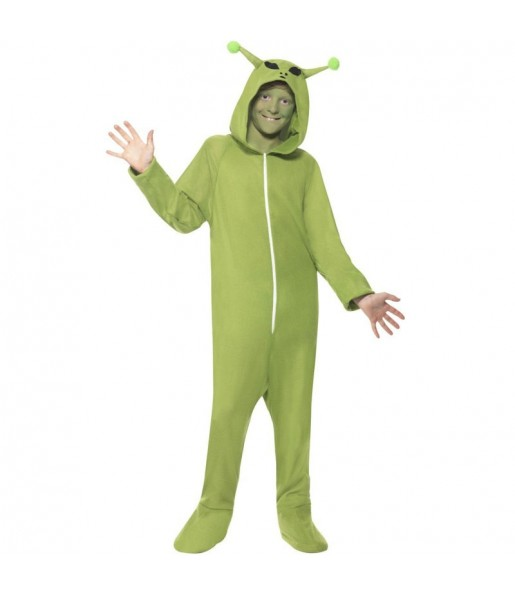 Disfraz de Extraterrestre Kigurumi para niño