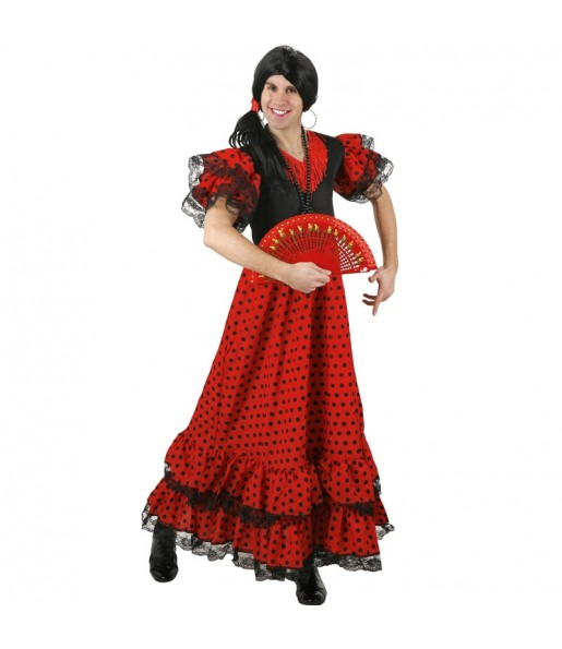 Disfraz de Flamenca hombre