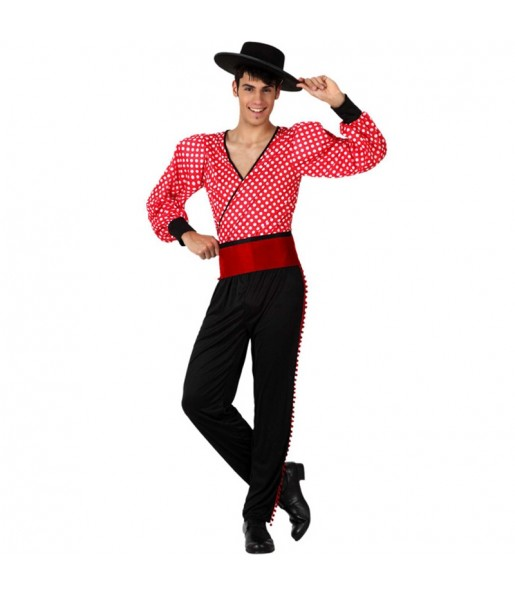 Disfraz de Flamenco Rojo