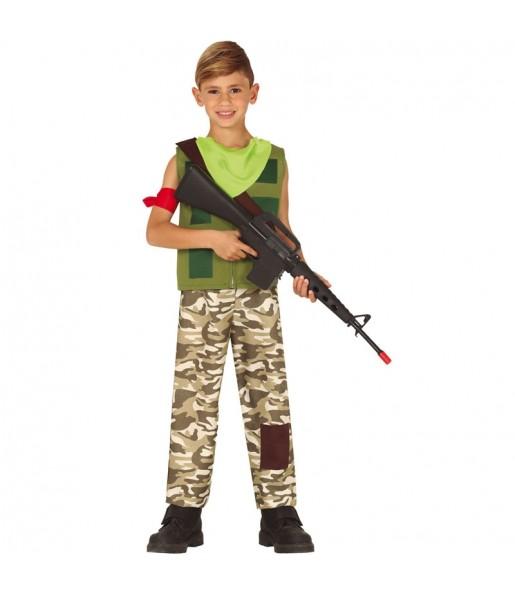 Disfraz de Fortnite Ben Shafer para niño