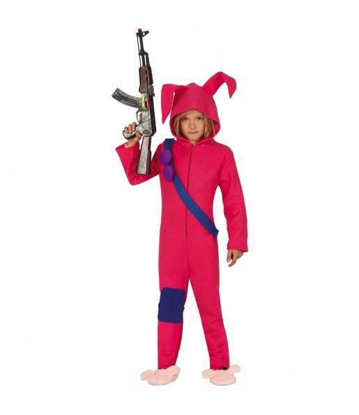 Disfraz de Fortnite Rabbit Raider para niño
