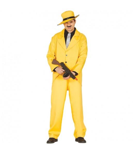 Disfraz de Gánster Amarillo
