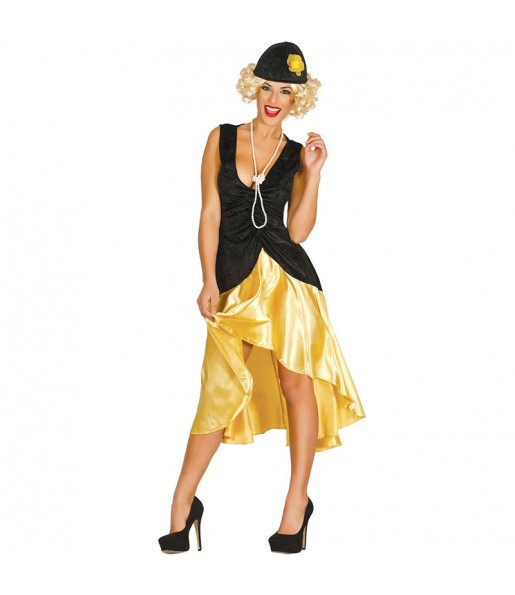 Disfraz de Gatsby Aaños 20 para mujer