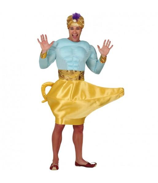 Disfraz de Genio con Lamparote aladin
