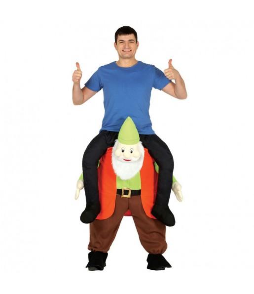 Disfraz de Gnomo a Hombros adulto