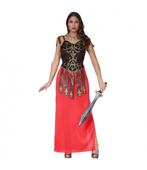 Disfraz de Guerrera Romana Tiberia