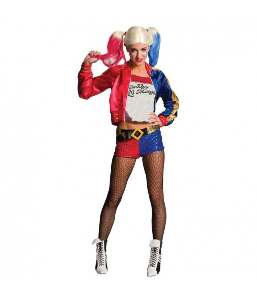 Disfraz Harley Quinn para mujer - DC Comics®