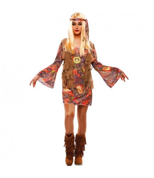 Disfraz de Hippie Estampado