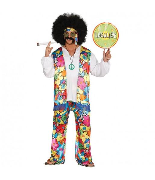 Disfraz de Hippie Legalize para hombre