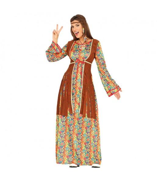 Disfraz de Hippie Peace and Love para mujer