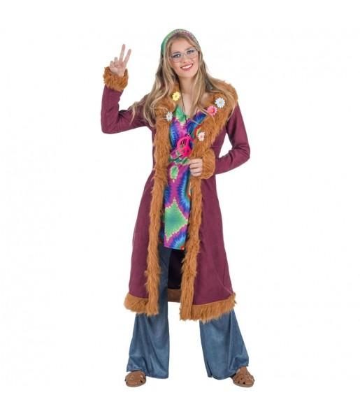 Disfraz de Hippie Deluxe para mujer