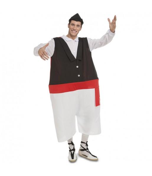 Disfraz de Huertano de Murcia Gordinflón adulto