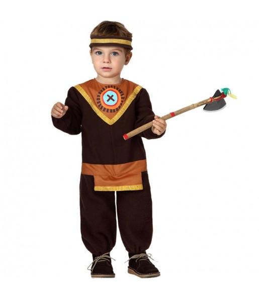 Disfraz de Indio bebé
